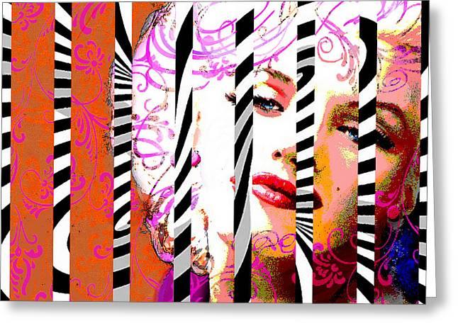 Marilyn 130 A Greeting Card
