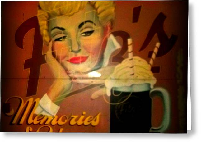 Marilyn And Fitz's Greeting Card by Kelly Awad