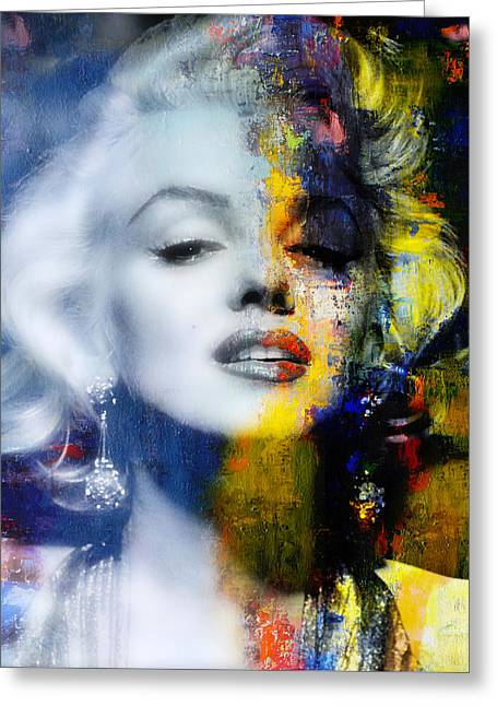 Marilyn Greeting Card