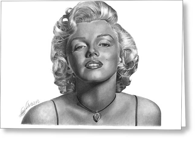 Marilyn Monroe - 018 Greeting Card