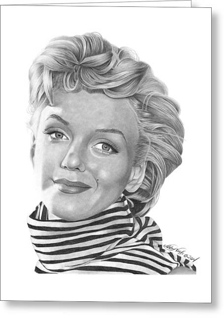 Marilyn Monroe - 029 Greeting Card