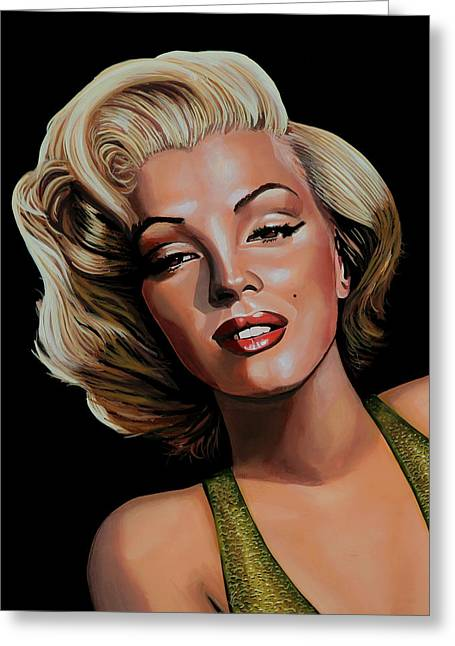 Marilyn Monroe 2 Greeting Card