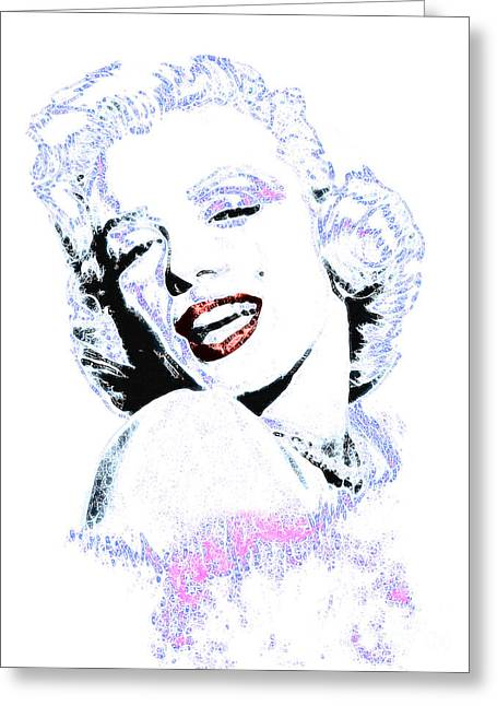 Marilyn Monroe 20130331 Greeting Card by Wingsdomain Art and Photography