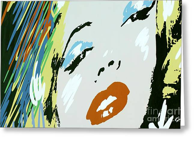 Marilyn Monroe 6 Greeting Card