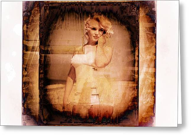 Marilyn Monroe Film Greeting Card