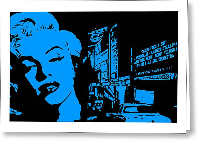 Marilyn Monroe Greeting Card by Neil Kinsey Fagan