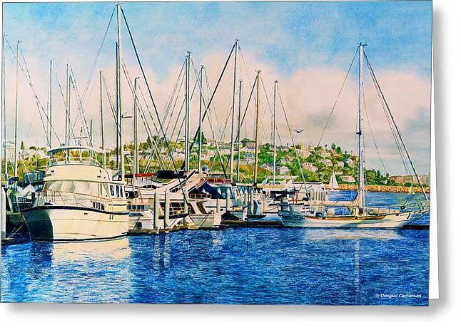 Marina Del Rey Afternoon Greeting Card