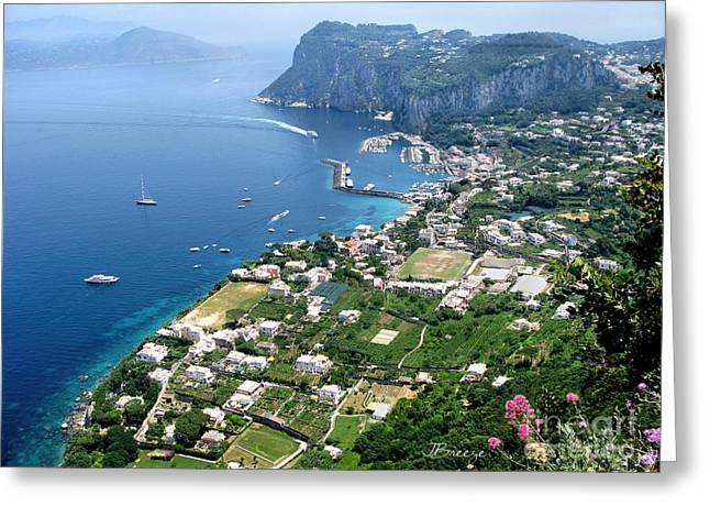 Marina Grande Anacapri Greeting Card