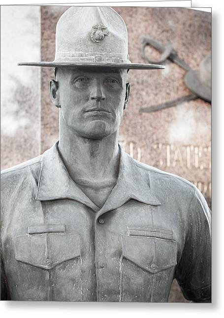 Marine Drill Instructor Greeting Card