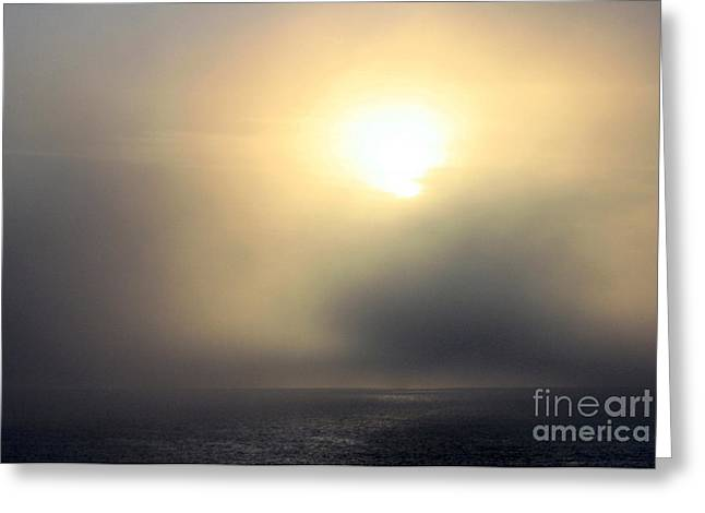 Marine Layer Greeting Card by Fred  Sheridan