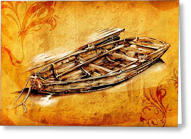 Marine Sea 01 Greeting Card