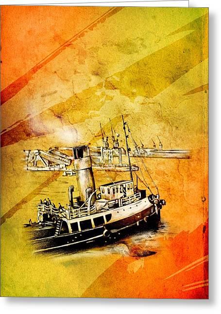 Marine Sea 08 Greeting Card