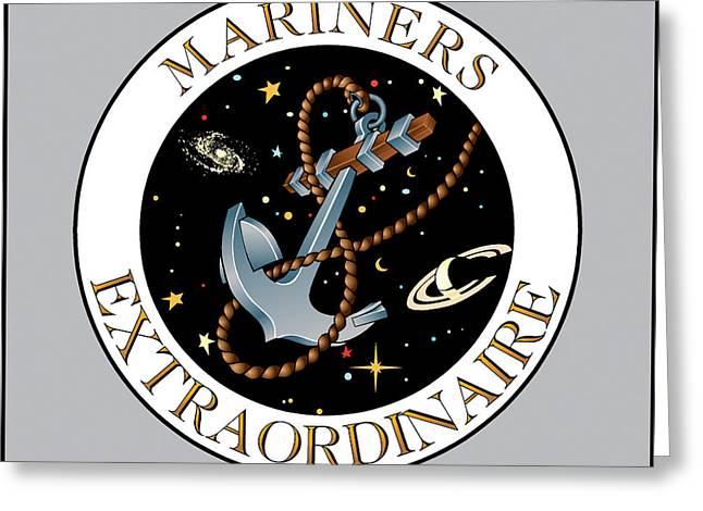 Mariners Extraordinaire Greeting Card