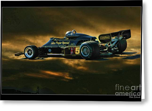 Mario Andretti John Player Special Lotus 79  Greeting Card