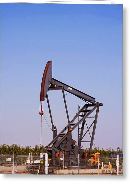 Maricopa Pumping Rig Greeting Card