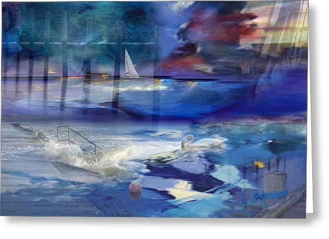 Maritime Fantasy Greeting Card