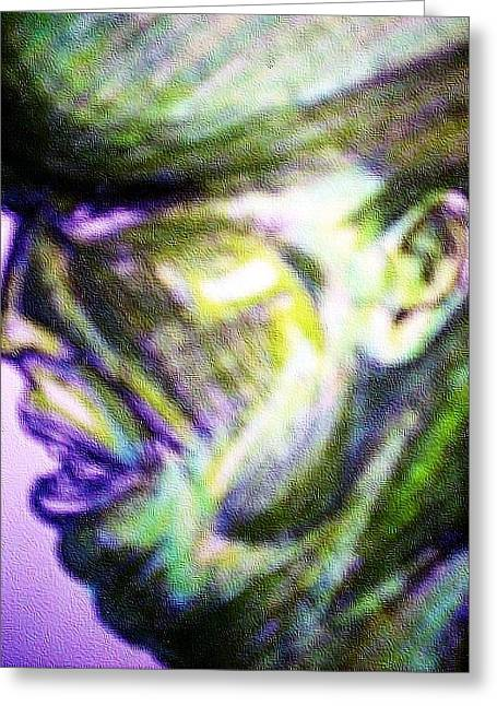 Mark Lopez Greeting Card by HollyWood Creation By linda zanini