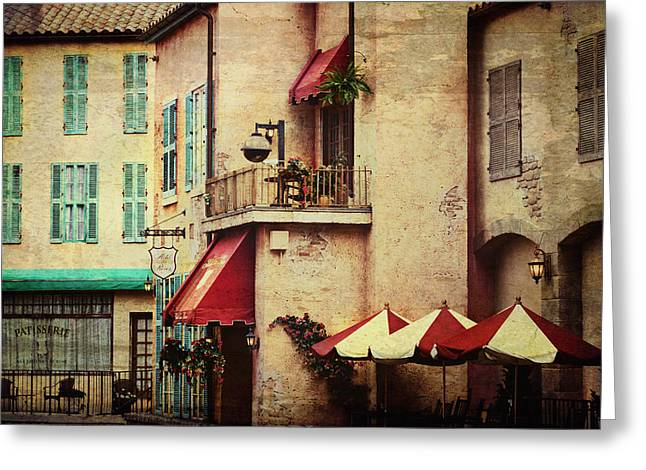 Market Front II Greeting Card