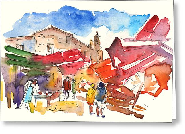 Market In Palermo 01 Greeting Card