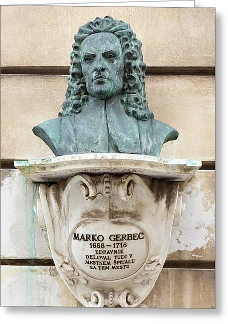 Marko Gerbec Greeting Card by Ken Welsh