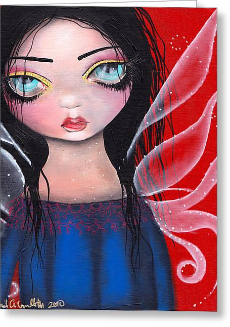 Marla Greeting Card by  Abril Andrade Griffith