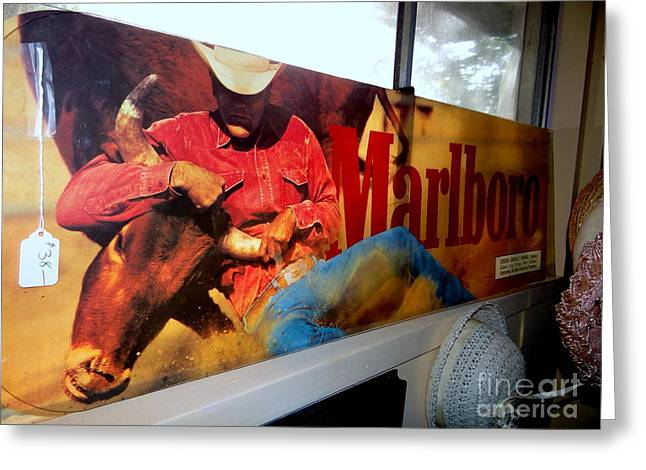 Marlboro Man Greeting Card