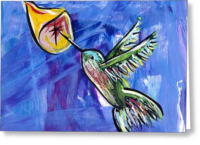 Hummingbird IIi Greeting Card