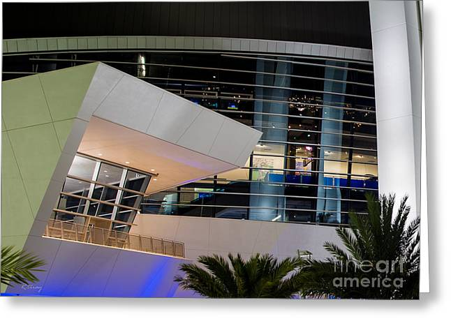 Marlins Park Stadium Miami 6 Greeting Card by Rene Triay Photography