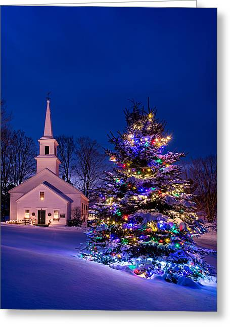 Marlow Christmas Greeting Card by Michael Blanchette