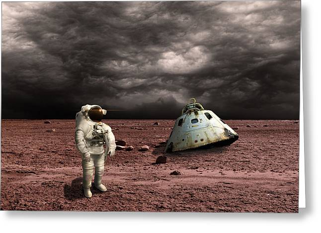 Marooned No.3  Greeting Card by Marc Ward