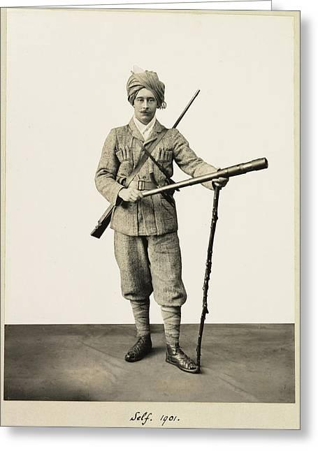 Marquess Of Zetland Greeting Card
