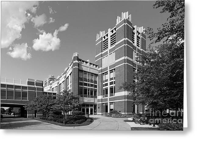 Marquette University Raynor Library Greeting Card by University Icons