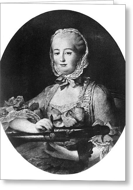 Marquise De Pompadour (1721-1764) Greeting Card