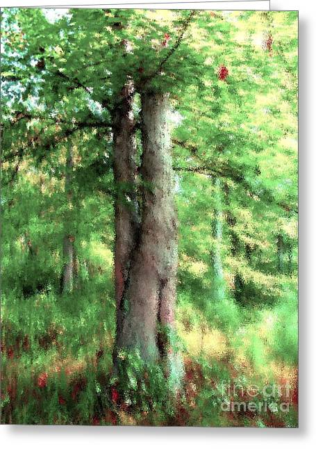 Marriage Tree Greeting Card