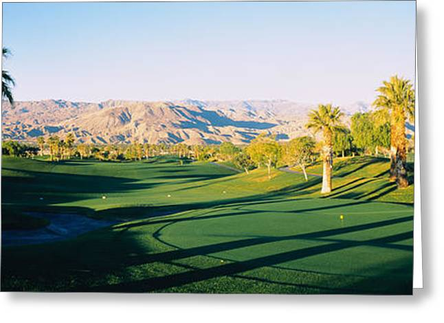 Marriot Desert Spring Ca, Usa Greeting Card by Panoramic Images