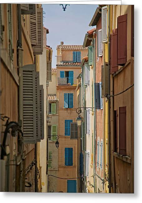 Marseille Greeting Card by Noze P