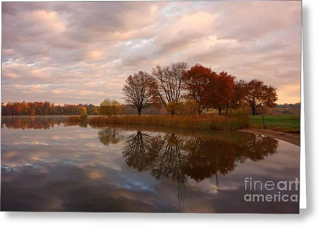 Marsh Creek Lake 7 Greeting Card