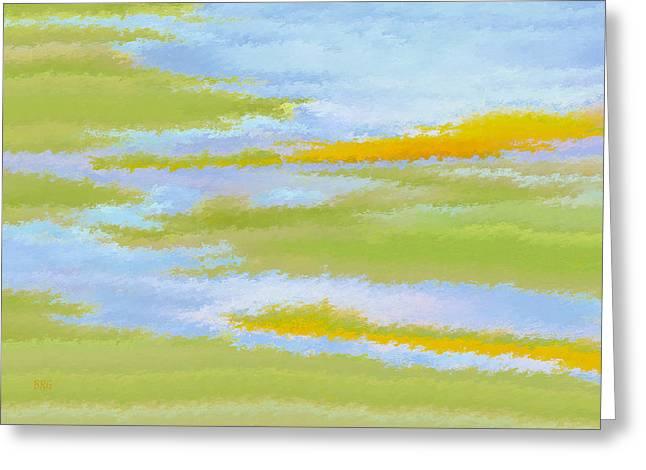 Marsh Landscape Greeting Card