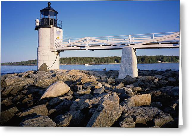 Marshall Point Light Greeting Card