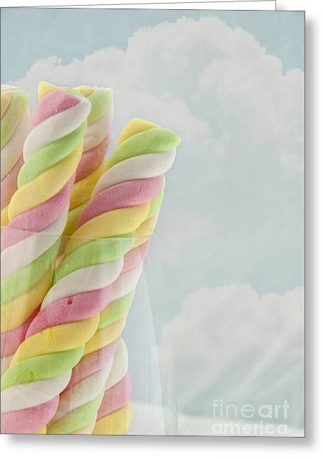 Marshmallow Poles Greeting Card by Juli Scalzi