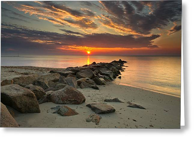 Marthas Vineyard Sunrise Greeting Card