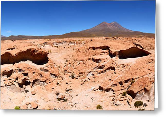 Martian Landscapes On Earth Greeting Card by James Brunker