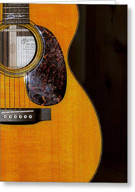 Martin Guitar  Greeting Card by Bill Cannon