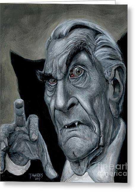 Martin Landau As Bela Greeting Card