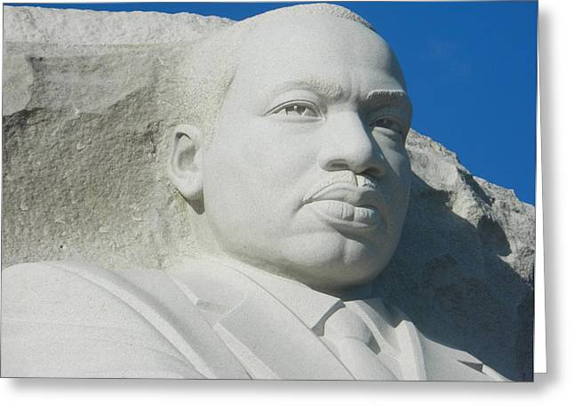 Martin Luther King Jr Memorial Greeting Card by Emmy Marie Vickers