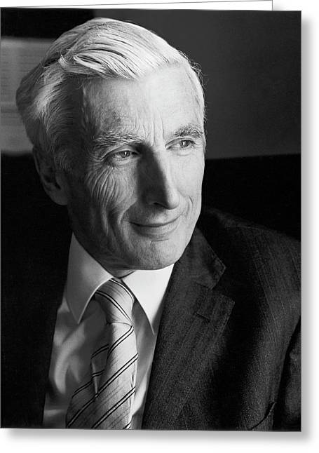 Martin Rees Greeting Card by Lucinda Douglas-menzies