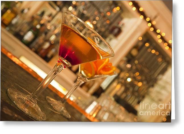 Martini 2 Greeting Card