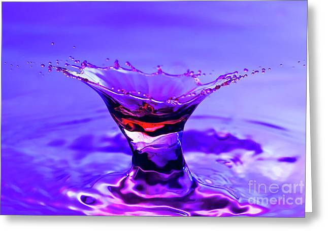 Martini Splash Greeting Card