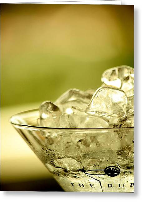 Martini Xiv Greeting Card by Rene Triay Photography
