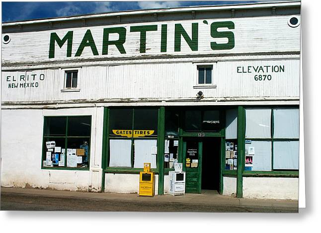Martin's Greeting Card